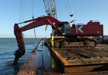 Wreck removal Helle Saj