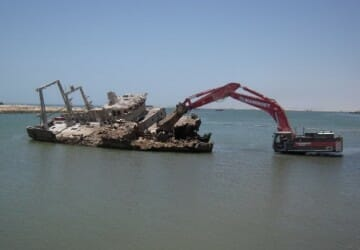 Wreck Removal fishing vessels Mauritania