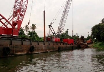 "Wreck removal of dredger ""Astra"""