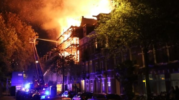 KOOLE assisted fire brigade at Amsterdam
